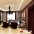 9万装千鹤家园新中式90平2居室