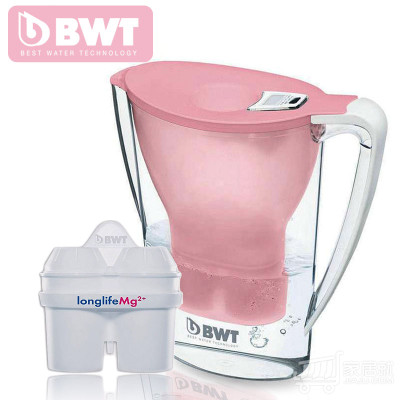 德国倍世(BWT)滤水壶 2.7L /3.6颜色任意选 粉色2.7L
