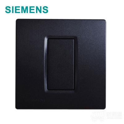 西门子 灵动 空白面板 金属黑 5TG0716/3NC3