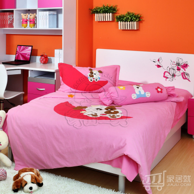 宇宙宝贝 床上四件套 H-TG-P 粉色