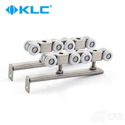 德国KLC 推拉门不锈钢吊轮吊滑 移门吊轨道滑轮