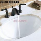 科勒 K-2940T-0 温蒂斯台下洗脸盆 面盆(BJ)