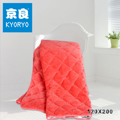kyoryo/京良 红外线储热保暖床护垫 120X200 桃红色