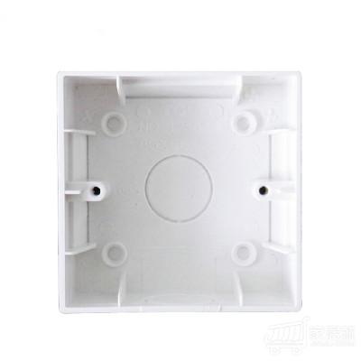 TCL-罗格朗开关插座面板 明装底盒 接线盒 86型开关插座10只装
