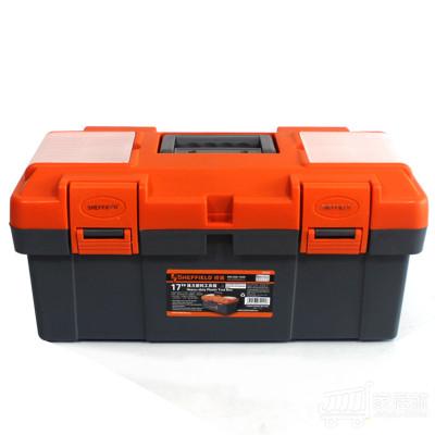钢盾 强力塑料工具箱工具盒零件盒 S024005
