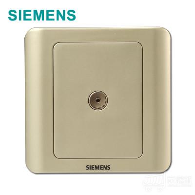 西门子 远景 电视插座 金棕 5TG0111/1CC1 33