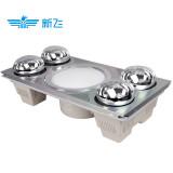 新飞 四灯暖照明换气三合一集成浴霸电器 XF-306H 银灰