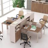 HiBoss 办公家具办公桌 板式家具员工位经理桌FD-14-08 褐色 HiBoss办公家具 值得信赖的健康家具