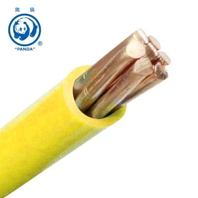 熊猫电线 BV单芯线 BV 10平方 零剪按米剪 厂方直销 全国包邮 BV10平方 5米起售 黄色