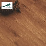 一川地板 强化复合地板 地热地板 防滑 工厂直销柔性漆面AD502 1218*169*12mm 棕色 工厂直销 柔性漆面