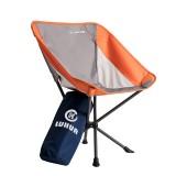 路华 轻便携腰包椅可折叠钓鱼椅子户外写生可乐椅 咖啡色