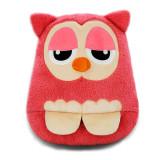 伊品堂 USB暖脚宝 LJW-J015 猫头鹰-粉色 usb保暖鞋 创意可爱小抱枕 暖脚鞋暖脚宝