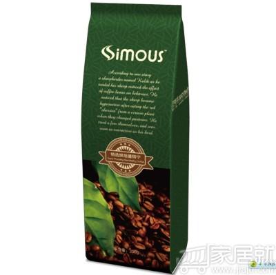 simous喜摩氏 喜摩氏特选烘焙曼特宁咖啡粉