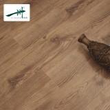 一川地板 强化复合地板 地热地板 防滑 工厂直销高光表面AD206 1219*169*12mm 棕色 工厂直销 高光表面