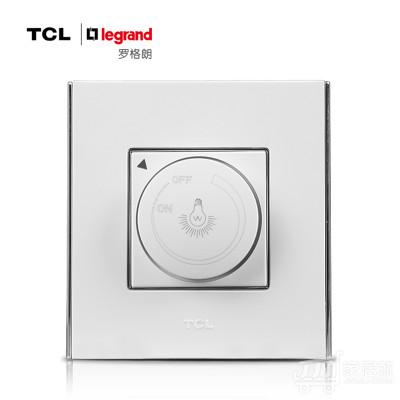 TCL-罗格朗开关插座面板 A8系列 调光开关 86型 雅白色