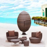 丰舍 小巨蛋沙发 大号 创意组合客厅阳台 fs00215 棕色 艺术沙发、可折叠沙发、阳台沙发 庭院家具