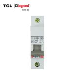 TCL-罗格朗 1P40A断路器 单极空气开关空开 TLB163C40 标准型 浅灰色