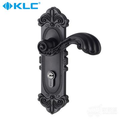 德国KLC黑色欧式室内房门锁 门锁