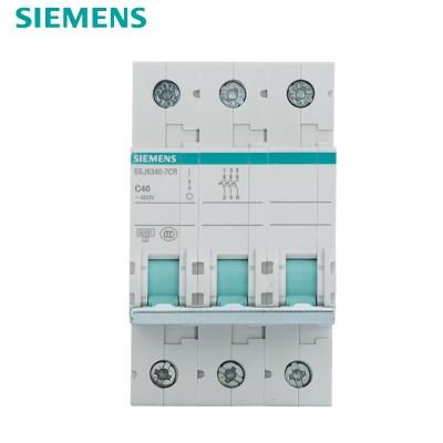 西门子SIEMENS 小型断路器3P 40A