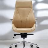 Hiboss 大班椅真皮时尚升降转椅 高档老板椅 XL-K9129 黑色西皮 升降转动椅 舒适耐用