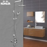 科勒珂悦淋浴柱淋浴花洒套装K-28581/K-28582(BJ) 三出水款