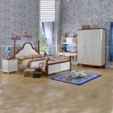 糖果屋 青少年儿童卧室家具套房 地中海单双人简易床 1500*1900 5件套