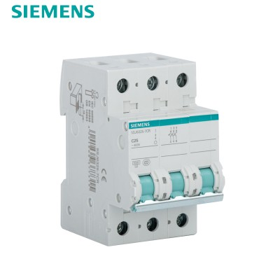 西门子SIEMENS 小型断路器3P 25A