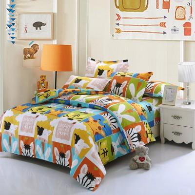 [德玉秀坊] 床单式纯棉四件套 Q12-1 1米5床 凯特夫妇-粉