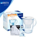 BRITA碧然德 滤水壶 白 MARELLA XL 3.5L 净水杯白色,一壶一芯(白色)
