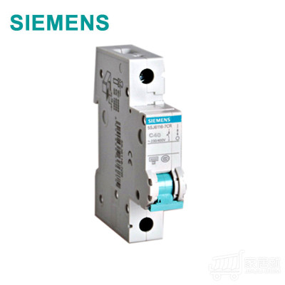 西门子SIEMENS 小型断路器1P 40A 绿色