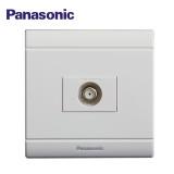 Panasonic松下电工开关插座面板 佳典纯系列 有线宽频电视插座 86型 WMS311