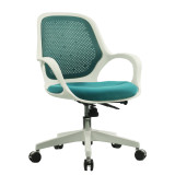 HiBoss 办公家具 透气防辐射电脑椅 ZY009 蓝色 新款特价 时尚推荐
