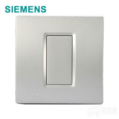 西门子 灵动 空白面板 金属银 5TG0716/2NC2