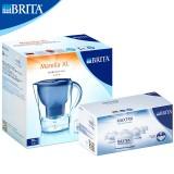 碧然德(Brita)净水器滤水壶(Marella3.5L套装) 蓝色1壶7芯