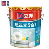 立邦漆超亚光净味五合一内墙乳胶漆油漆涂料墙面漆油漆涂料 小桶5L