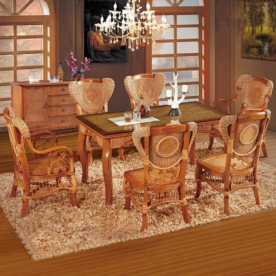 绿欣轩餐厅组合圆餐桌3031 餐椅