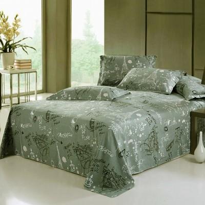 [德玉秀坊] 全棉床单+2只枕套 Q6-2 160*230cm 其他留言