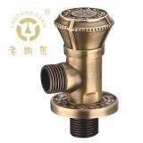 老铜匠 全铜欧式角阀 32626A青古铜色 实心加厚陶瓷芯 冷热水通用