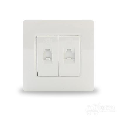 西门子SIEMENS 灵动 电脑电话插座 雅白色 白色