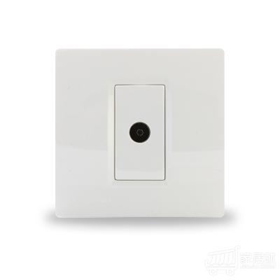 西门子SIEMENS 灵动 电视插座 雅白色 白色