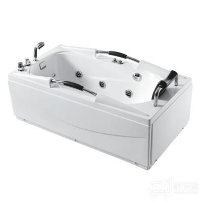 箭牌卫浴 ARROW 亚克力单人按摩浴缸 1.5米 BJ AC111按摩浴