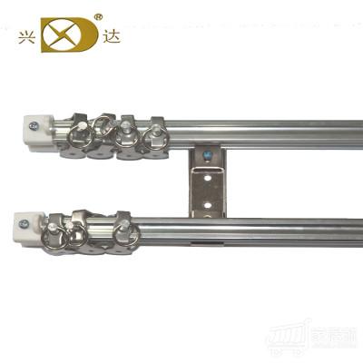 兴达 仿钢重型柔性窗帘双轨 2.0米