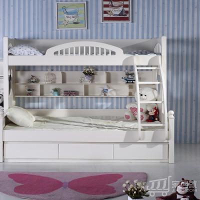 糖果屋高低床 1.5X1.9米 标配仅上下床