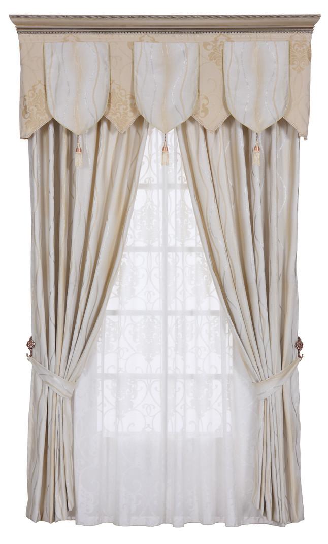 【中式窗簾貼圖】 中式風格窗簾布藝貼圖
