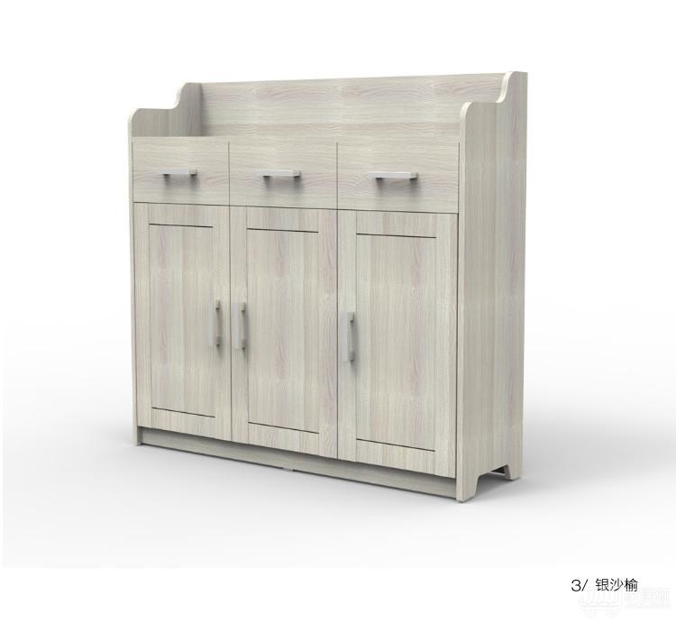 好莱客 多功能玄关鞋柜 隔断门厅柜 带门储物柜 现代家具x