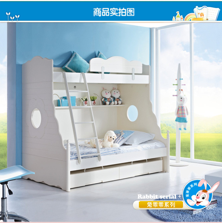 儿童家具高低床公主床