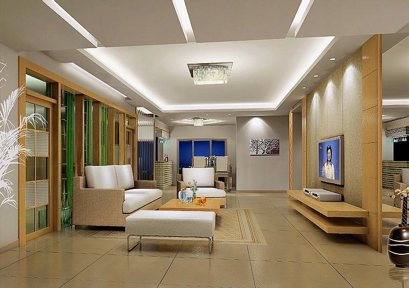 套房客廳效果圖-裝修案例-家居就