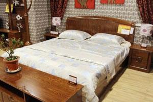 光明家具纯实木双人床特价