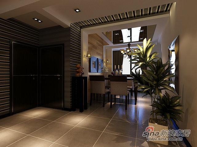 98平米两室两厅时尚现代风-2