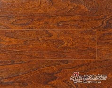 大卫地板中国红-吉祥红系列强化地板DWFD03罗马庄园-0